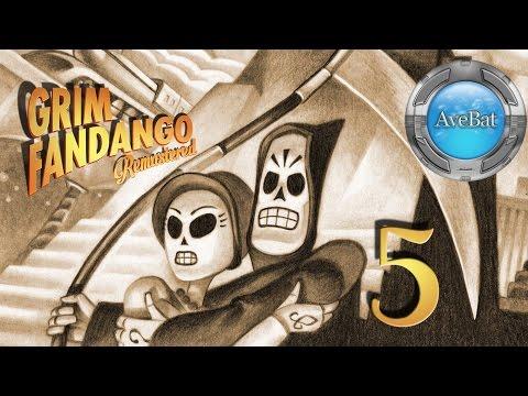 Grim Fandango Remastered part 5 The Petrified Forest