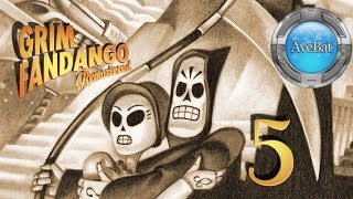 Grim Fandango Remastered part 5 The Petrified Forest