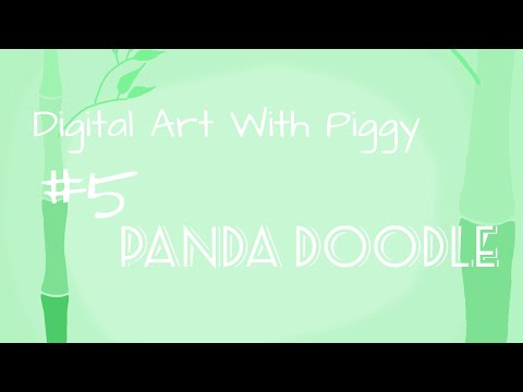 Digital Art with Piggy #5 Panda