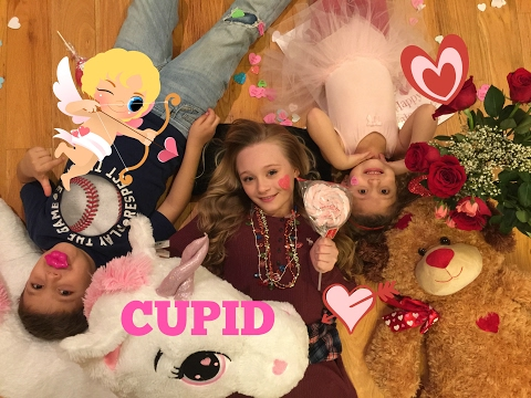 Princess Ella is in a Love Disaster when Cupid Baby Gia shoots her Brother with Love Arrow