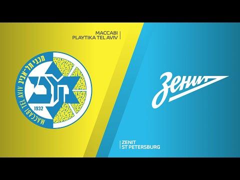 Maccabi Playtika Tel Aviv - Zenit St Petersburg Highlights | Turkish Airlines EuroLeague RS Round 17