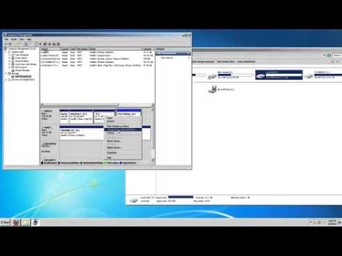 how to view partitions on hard drive