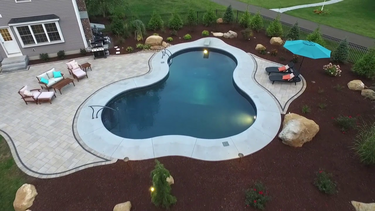 Backyard Pool Patio Outdoor Living Space By Scovillu0027s