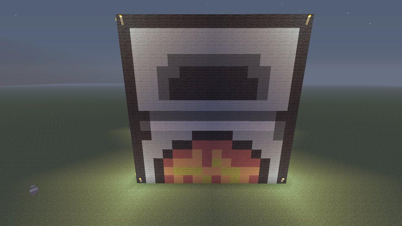 Minecraft Furnace Build 3d Xone Youtube