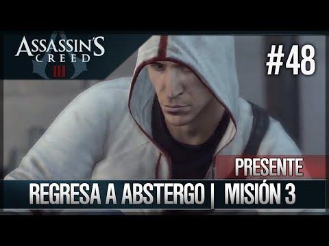 Assassin's Creed 3 - Walkthrough Español - Presente - Misión Desmond - Regreso a Abstergo [3] [100%]