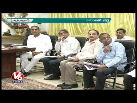 CM KCR Orders Officials To Speedup Kamareddy And Ellareddy Reservoir Works | V6 News