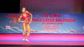 Szabó Melinda IFBB Fitness Világbajnok gyakorlata 2011