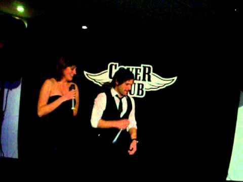 Karaoke in Schagerklubben Umea, Sweden on 20.11.2010 by Rui and Melanie