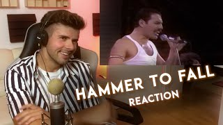 MUSICIAN REACTS to Queen - Hammer To Fall (Live Aid 1985)