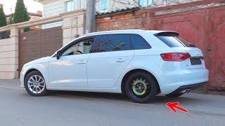 Het wiel viel eraf op Audi a3 - Dima ride op elektrische wielen AMG 63