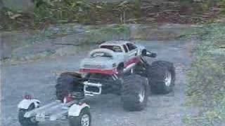 TrailX™ RC trailer for HPI Savage and kyosho Leaning Rider