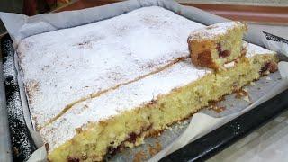 Очень Простой но Такой вкусный Воздушный пирог к чаю Пирог на Кефире Узбечка готовит