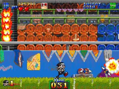 Arcade Longplay [374] Charlie Ninja