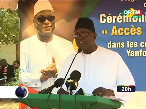 Cérémonie de lancement d'UDUMA Mali (JT ORTM, 12 janvier 2018)