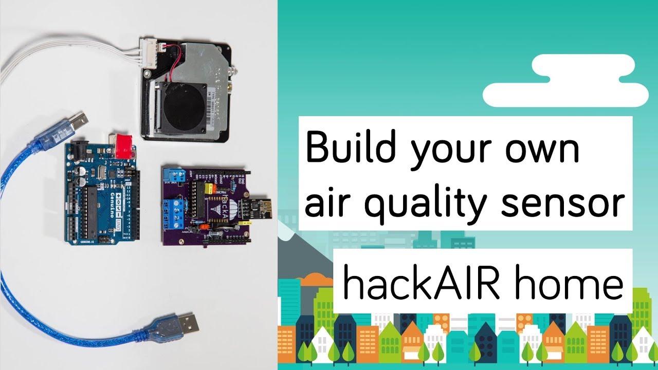 hackAIR home v1 sensor – hackAIR