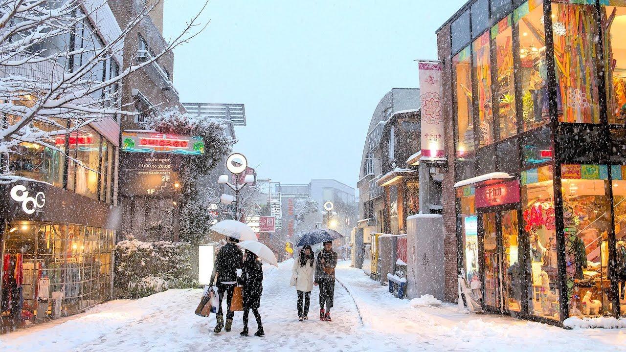 Tokyo Snow 2014