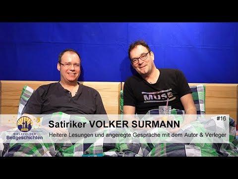 Volker Surmann: Satiriker & Autor zu Gast in den Bielefelder Bettgeschichten - Folge 16