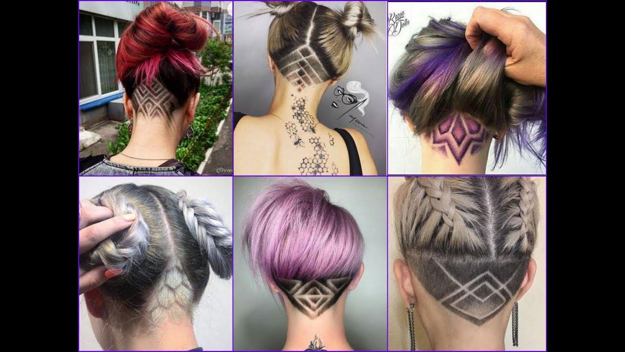 top 35 best nape undercut design ideas 2018 - nape shave haircut for women