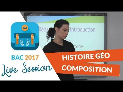 Bac 2017 - Live Méthodologie Histoire Géo : Composition d'Histoire Géo