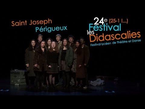 Saint Joseph - Périgueux - Mardi soir - Didascalies 2014