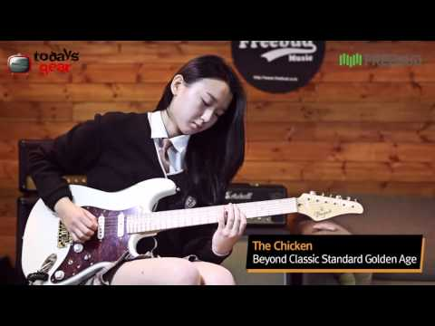 just funky, chicken--Guitar cover 오지현