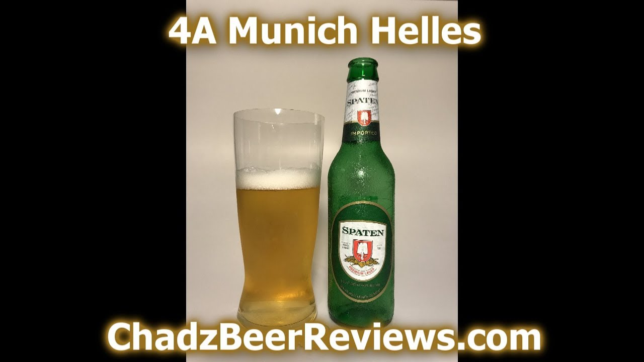 Lager München Spaten Premium Lager | Chad'z Beer Reviews #864 - Youtube
