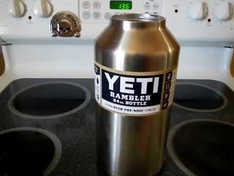 Yeti 64 Oz Rambler Bottle Review Youtube