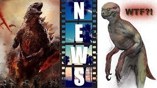 Godzilla 2 and 2014 Box Office Battle! Jurassic World Dinosaurs - WTF?! : Beyond The Trailer
