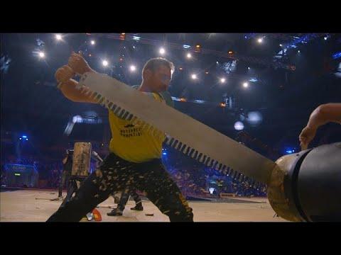 euronews (em português): Austrália reconquista título no Mundial de lenhadores