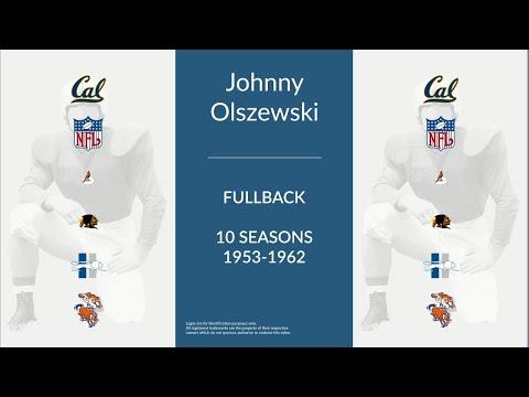 Johnny Olszewski: Football Fullback