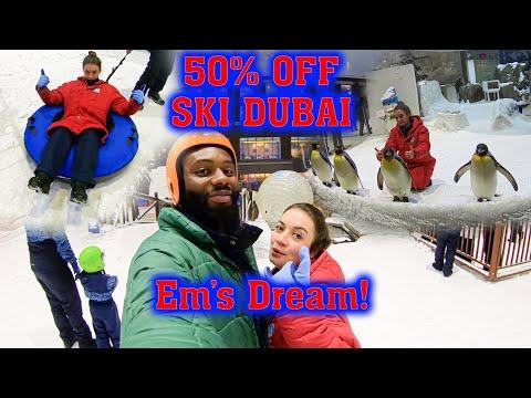 Couples Vlog – Dubai – Ski Dubai & Mall of the Emirates – MnEm – Day 3