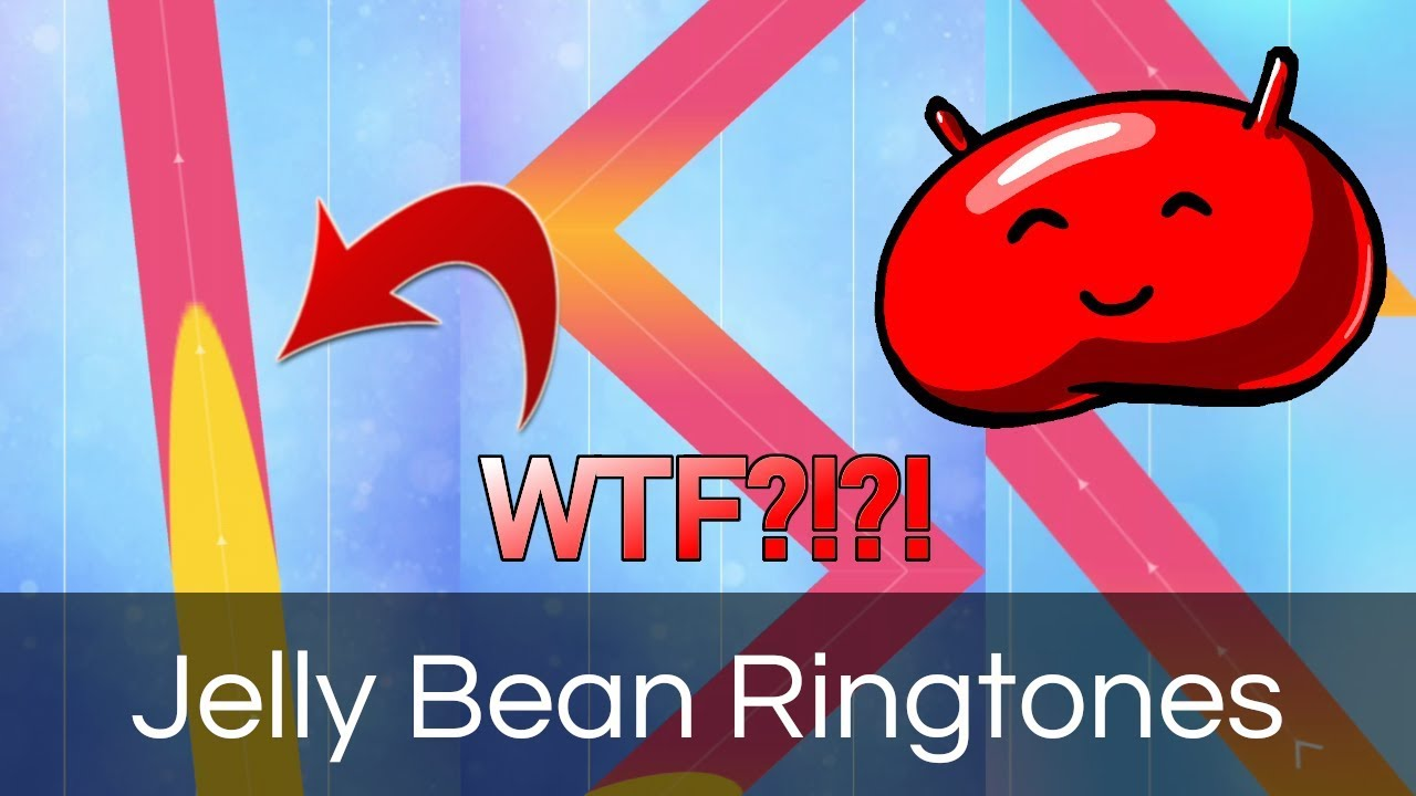 Android Jelly Bean Ringtones in Piano Tiles 2! *CRAZY SLIDES!*