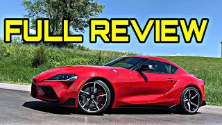 2020 Toyota GR Supra Review - Driving It Will Make You Forget About The 86