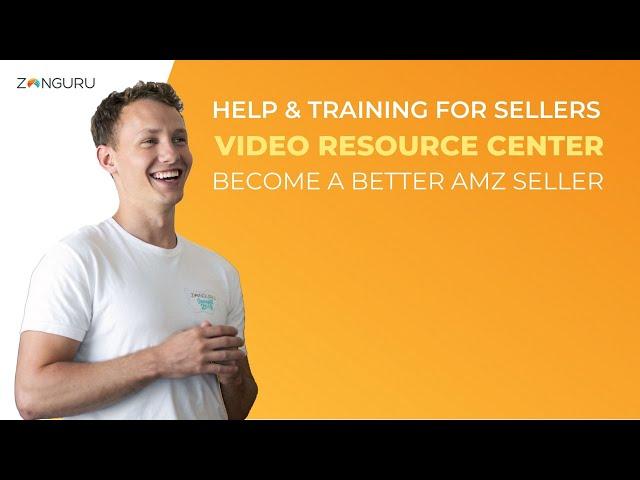 Introducing ZonGuru's Video Resource Center ℹ️ #SellerTraining #AmazonFBA