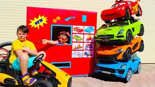 ALİNİN ARABALARI Kids pretend selling toy cars for kids and ride on power wheels