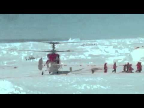 Raw: Stranded Antarctica Researchers Rescued