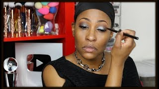 Easy Silver Eyeshadow Tutorial With Mistakes & Tips