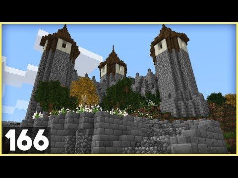 Castle Entrance! (1.14) | Building Big W/ Jerm #166 | Survival Minecraft