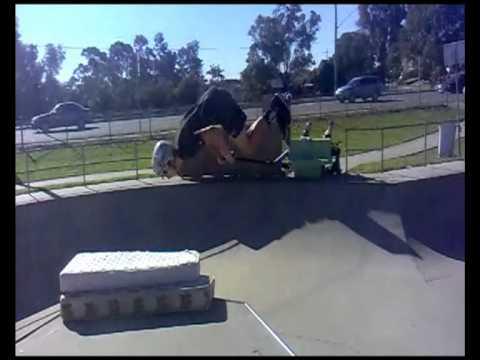 Jack Wilkinson First Backflip Moorebank Skatepark NSW