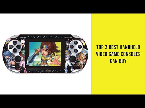 Top 3 Best Handheld Video Game Consoles Can Buy - Reviews Of Handheld Video Game Consoles