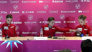 Press Conference Grand Prix Final 2019 20 FP Victory