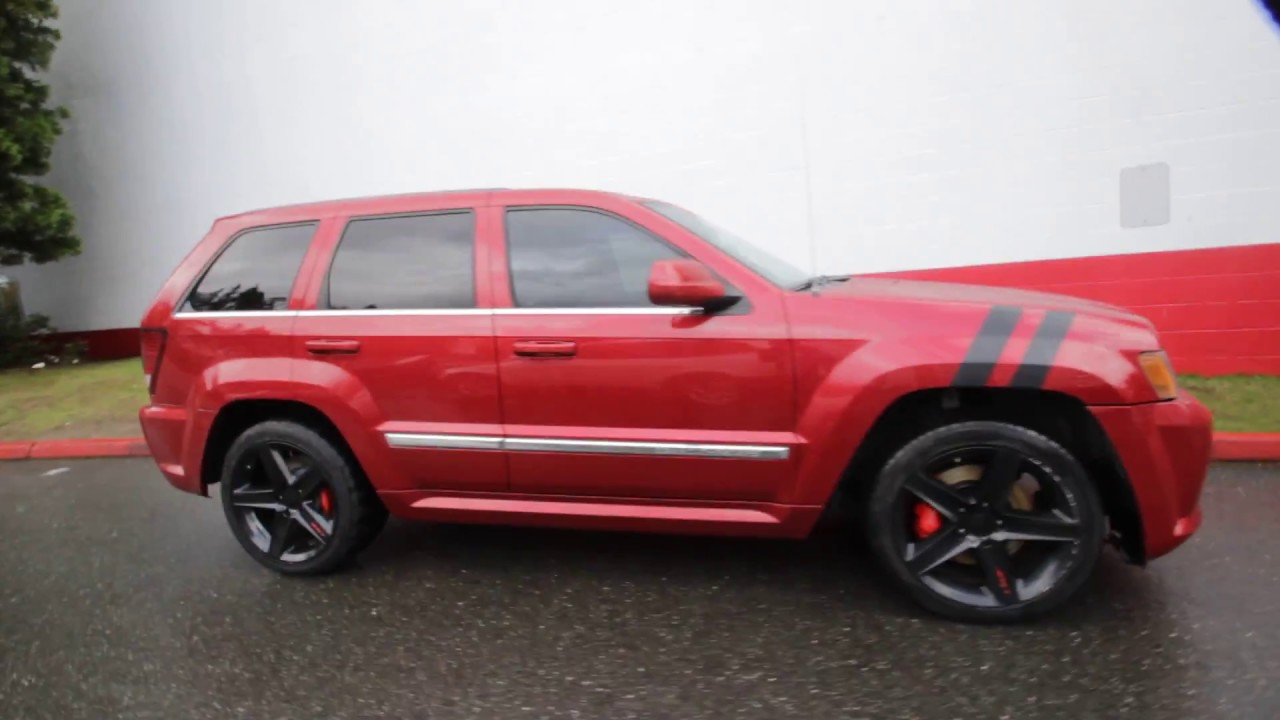 2010 Jeep Grand Cherokee SRT8 | Inferno Red Crystal Pearl Coat | AC107226 |  Redmond | Seattle