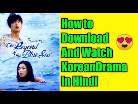 Download Legend of the Blue Sea In Hindi Dubbed || Legend of the Blue Sea Korean Drama All Episodes In Hindi