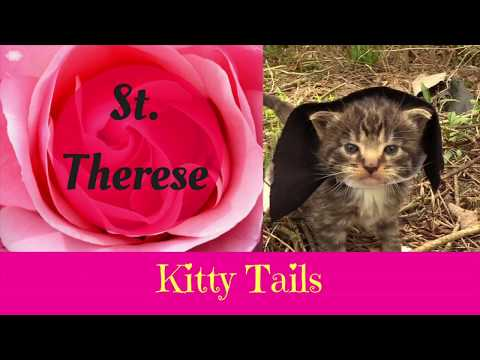 Kitty Tails Saint Snippets - St. Therese