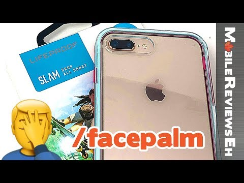 YIKES... - LifeProof SLAM Review  - iPhone XS and iPhone 8
