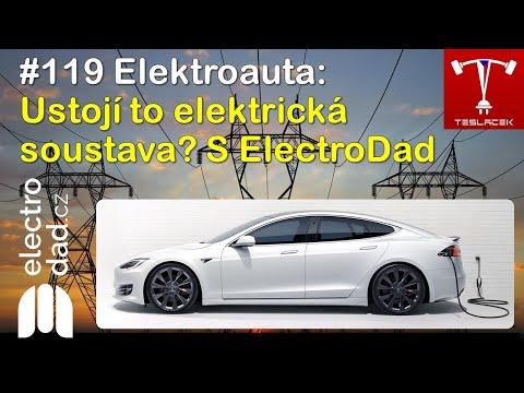 #119 Elektroauta: Ustojí to elektrická soustava? s @Electro Dad | Teslacek
