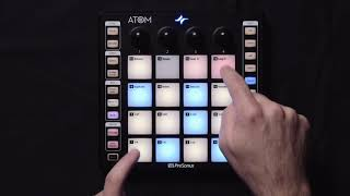 PreSonus ATOM Pad Controller: Keyboard mode and changing instrument presets
