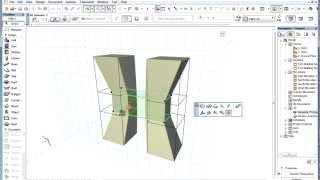 The ARCHICAD MORPH Tool - Box Stretching Multiple MORPH Elements or MORPH Sub-elements