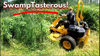 Brutally testing a Very Big  Mower