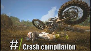 Supercross 2 - Motocross Crash compilation 2019